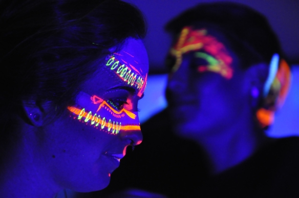 Wearable Art Ball 2016. Danielle Mulcahy & Danielle Doell. Photo by Caroline Curry