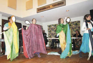 Spindrift Marionettes perform at Pathways Gathering Space