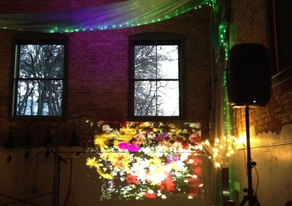 More projections in the Main Music Room